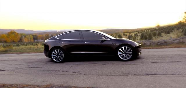Tesla Model 3 - black