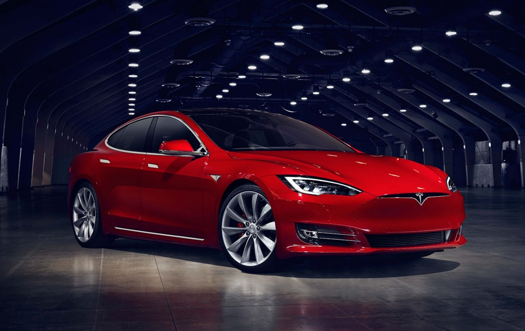 Tesla Model S update (2016) - front, red