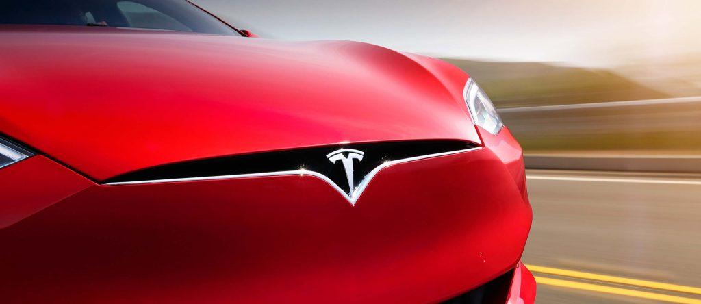 "2016 Tesla Model facelift - new \""grille\"" and front bumper"