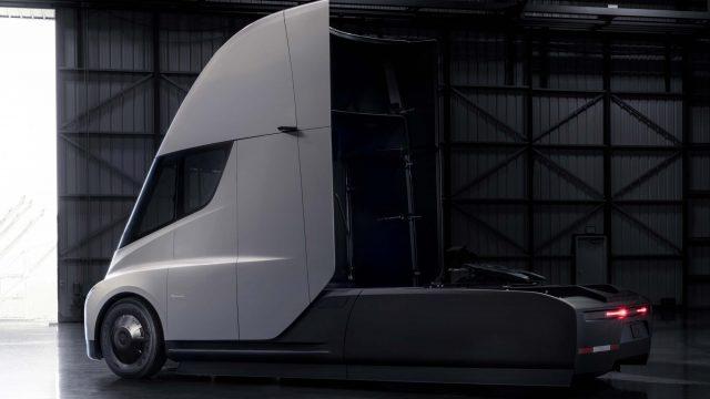 2017 Tesla Semi Concept