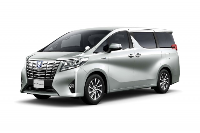 Toyota Alphard 3rd Generation People Mover Photo Gallery