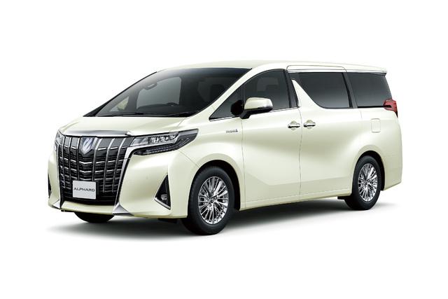2018 Toyota Alphard facelift - front, white, studio