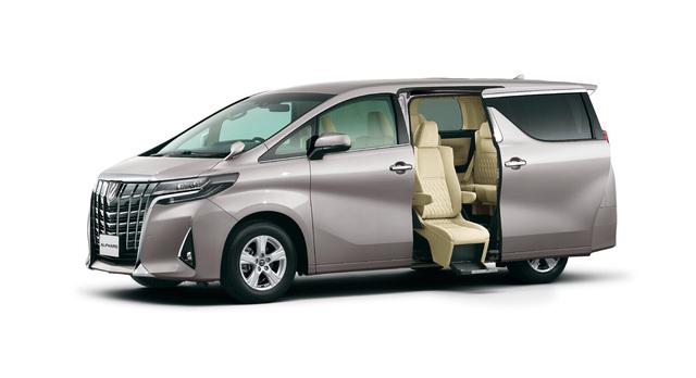 2018 Toyota Alphard facelift - Welcab disabled seat