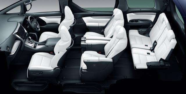 2018 Toyota Alphard facelift - Executive Lounge seats