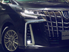 2018 Toyota Alphard facelift - new grille, headlamps