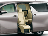 2018 Toyota Alphard facelift - accessible seat