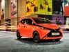2014 Toyota Aygo - front, orange
