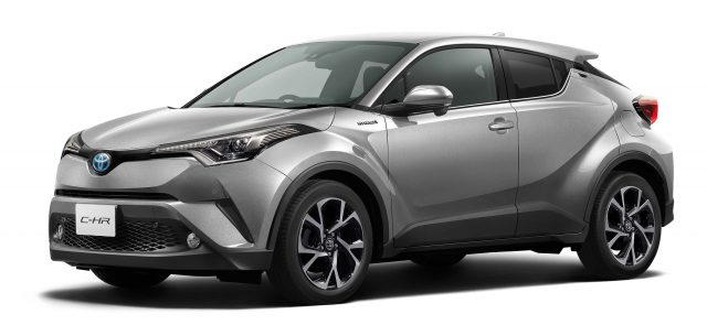 2016 Toyota C-HR (JDM) - front, silver