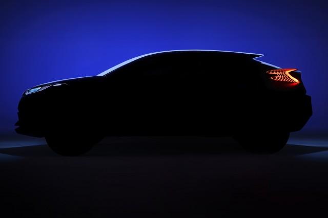 Toyota C-HR concept - teaser - side profile