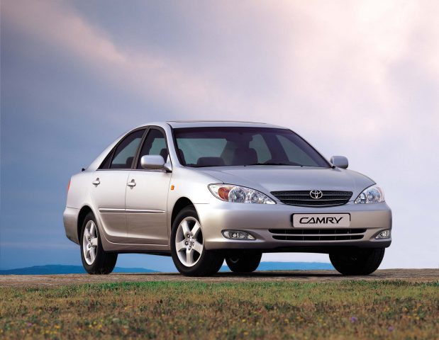 XV30 Toyota Camry - front, silver