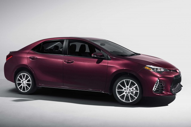 2017 Toyota Corolla 50th Anniversary Edition - side
