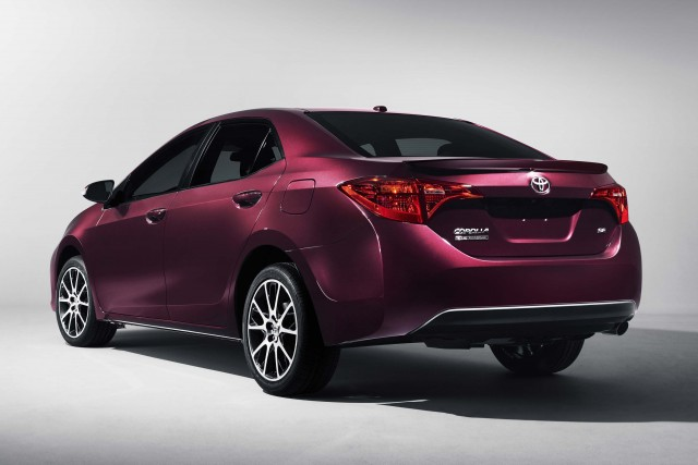 2017 Toyota Corolla 50th Anniversary Edition - rear