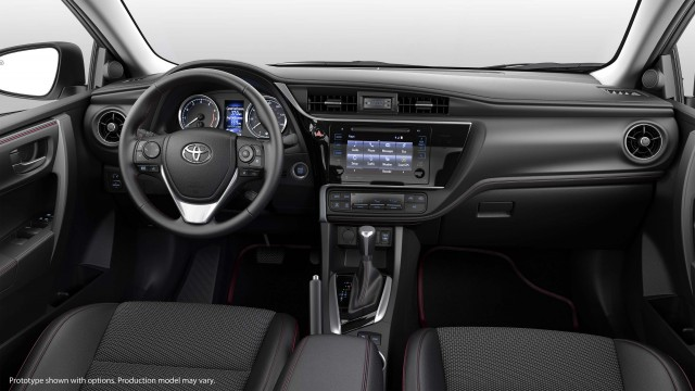 2017 Toyota Corolla 50th Anniversary Edition - dashboard
