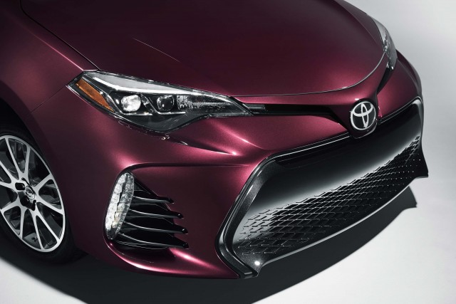 2017 Toyota Corolla 50th Anniversary Edition - nose
