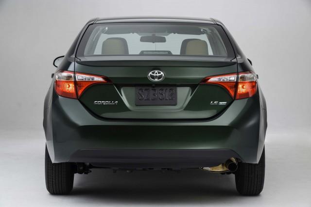 Toyota Corolla LE Eco - rear