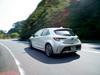 2018 Toyota Corolla Sport - rear, white