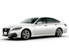 2018 Toyota Crown - front, white