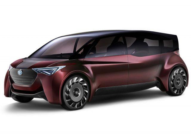 Toyota Fine-Comfort Ride concept - front, purple