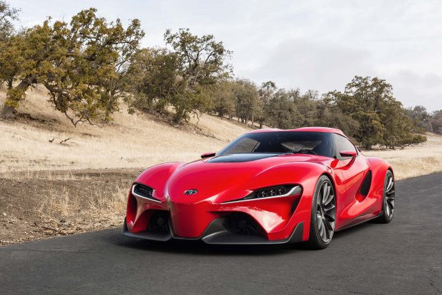 Toyota FT-1 Concept - front, red