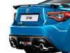 2018 Toyota GT86 Club Series Blue Edition - trunk lid, exhaust, rear wing, taillamps