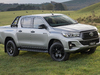 Toyota HiLux Rogue - silver, front