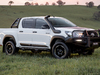 Toyota HiLux Rugged - white, front