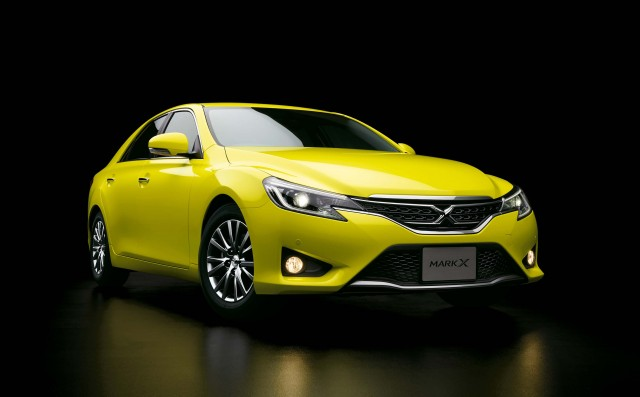 Toyota Mark X Yellow Label 250G S Package RWD