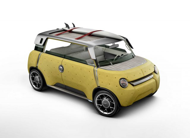 Toyota MeWe concept - front, yellow
