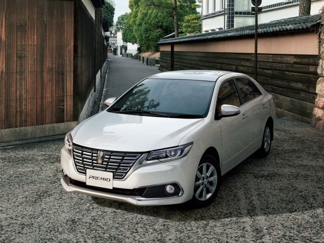 Toyota premio facelift 2016 t260 jdm photo gallery between the axles