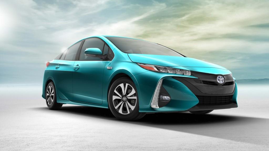 2017 Toyota Prius Prime - front