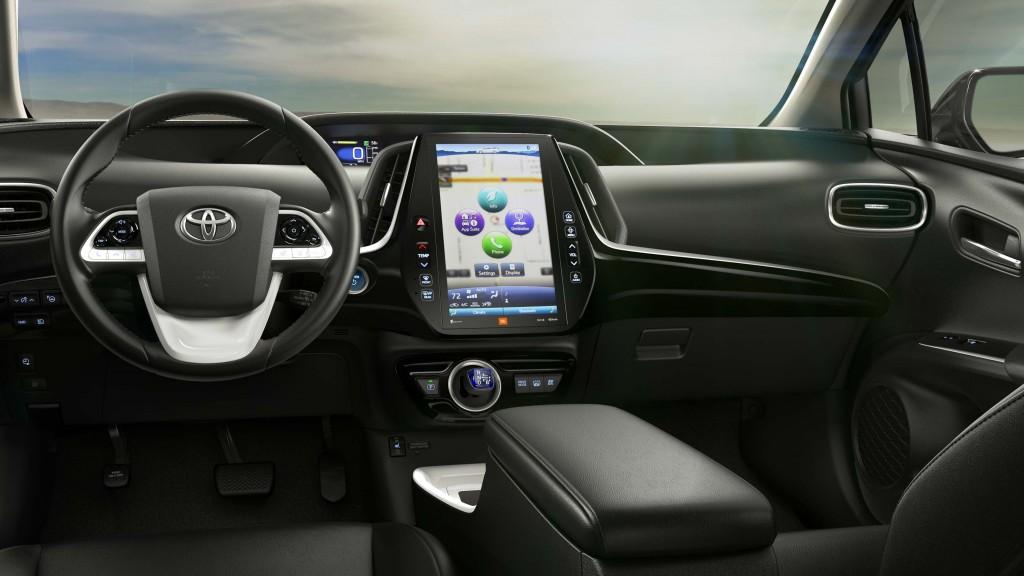 2017 Toyota Prius Prime - interior