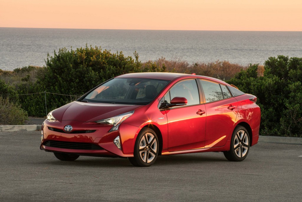 XW40 Toyota Prius (MY2016) - front, red
