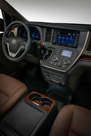 2018 Toyota Sienna Limited - interior, dashboard