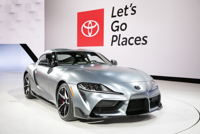 2020 Toyota Supra World Debut