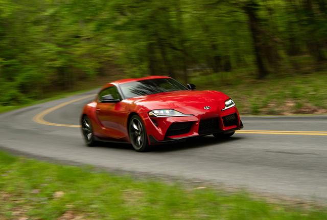 2020 Toyota Supra launch