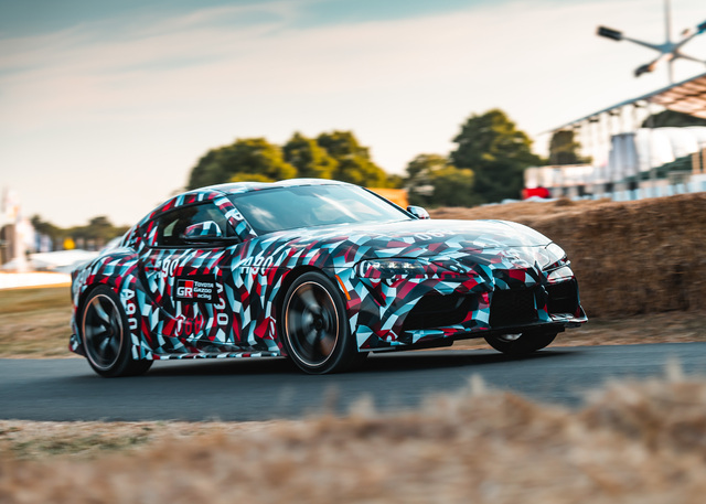 2019 Toyota Supra prototype - 2018 Goodwood Festival of Speed, front, hill climb
