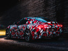 2019 Toyota Supra prototype - 2018 Goodwood Festival of Speed, rear, night