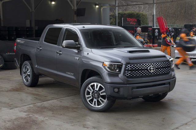 2018 Toyota Tundra TRD Sport - front, gray