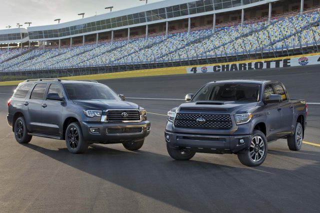 2018 Toyota Tundra and Sequoia TRD Sport