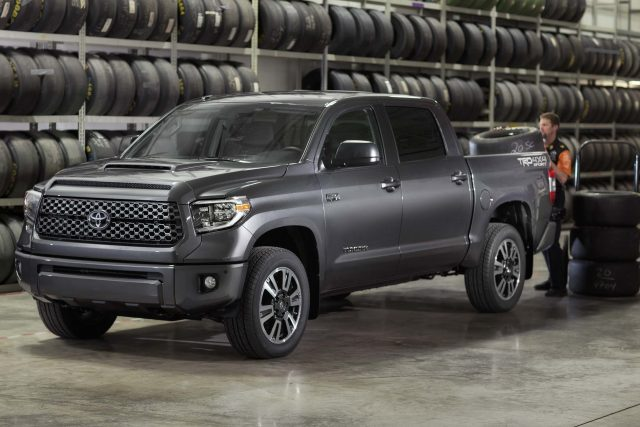 2018 Toyota Tundra TRD Sport - front