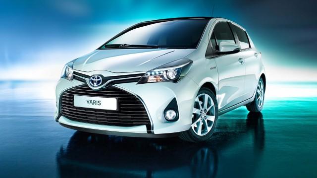 XP130 Toyota Yaris Hybrid (EU) facelift