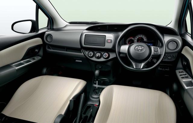 XP130 Toyota Vitz facelift