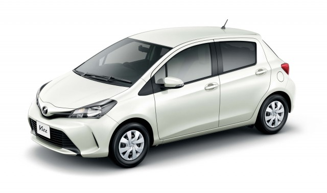 XP130 Toyota Vitz facelift