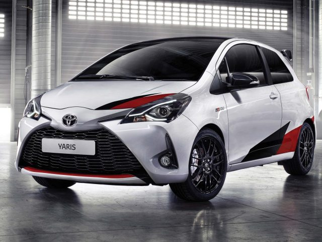 2017 Toyota Yaris GRMN - front, white