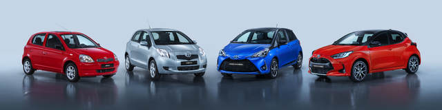 Toyota Yaris (1999-2020): First four generations
