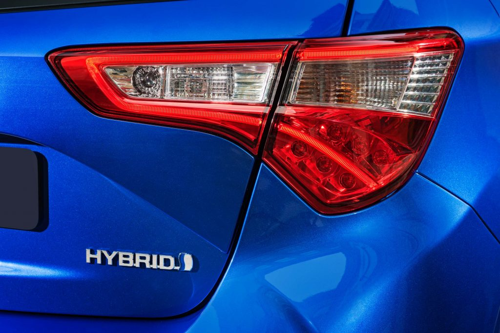 2017 Toyota Yaris facelift - taillamps