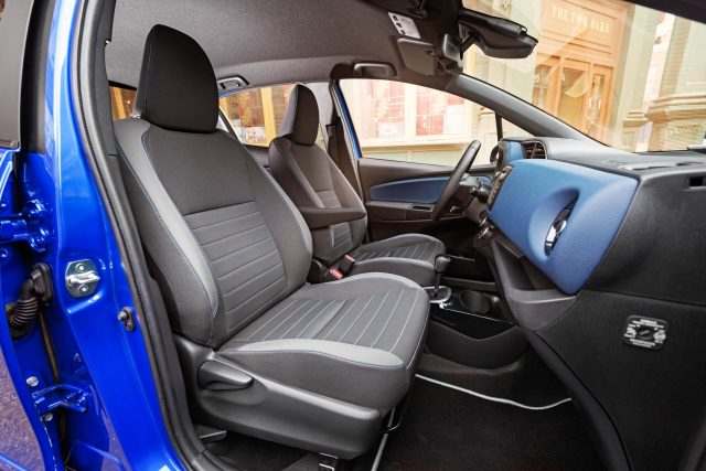 2017 Toyota Yaris facelift - front seats