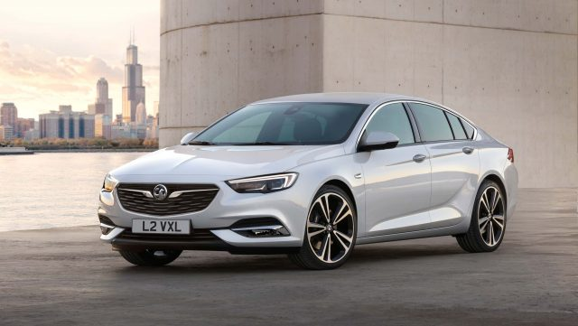 2017 Vauxhall Insignia Grand Sport - white, front