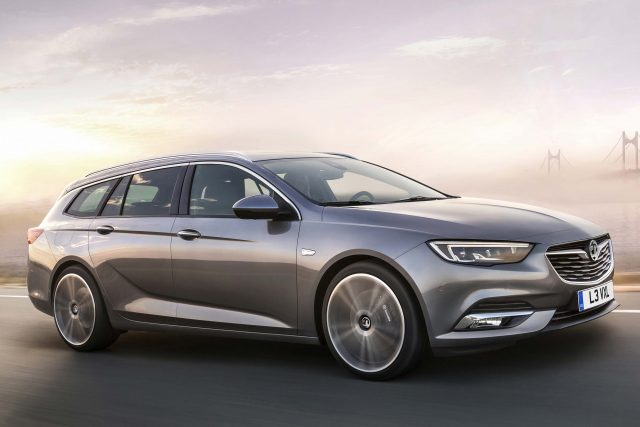 2017 Vauxhall Insignia Sports Tourer - front