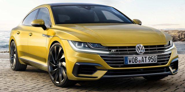 Volkswagen Arteon R-Line - front
